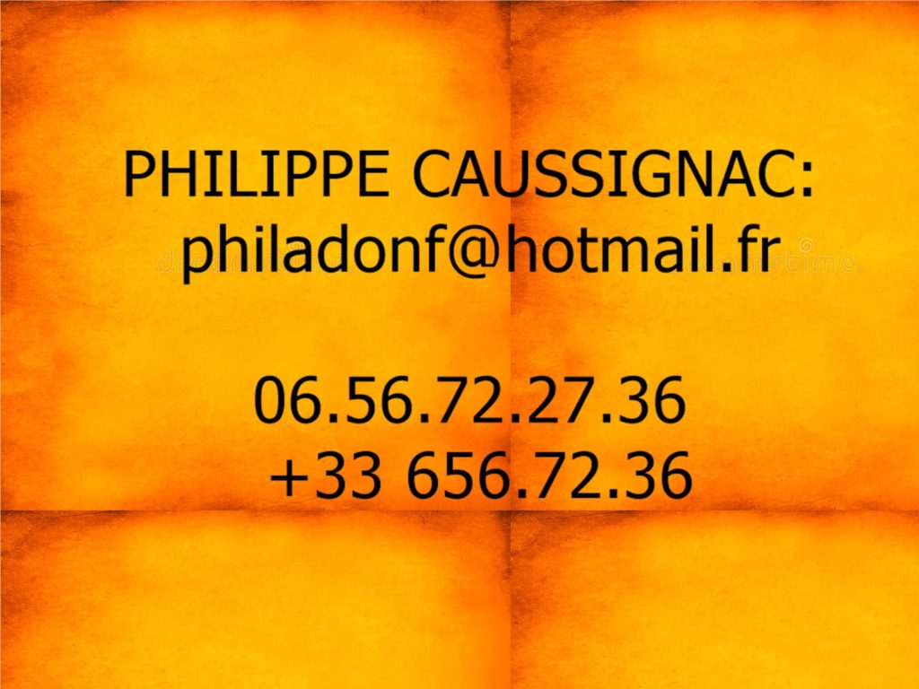 philippe Caussignac . Contact Marseille